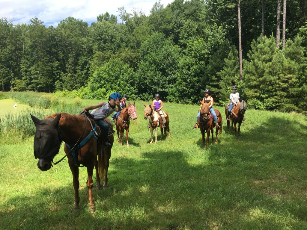 Summer Camp July 11-15 Trail Ride Day